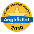 Angies List Super Service Award Winner 2010