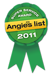 Angies List Super Service Award Winner 2011