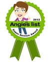 Angies List Super Service Award Winner 2012