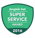 Angies List Super Service Award Winner 2016