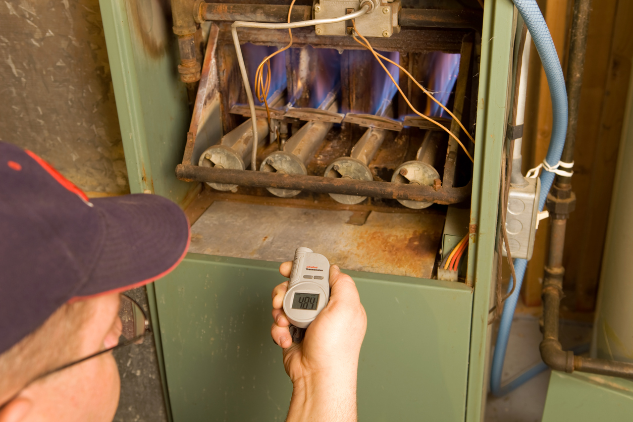 Image for blog post: 4 Common Issues With Older Furnaces